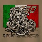 Vintage Look Ducati 750SS round case engine cutaway Motorcycle T Shirt Racer