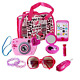 WenToyce My First Purse Pretend Role Play Beauty Set for Girls, with Storage Car photo