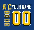 St. Louis Blues Customized Number Kit for 2014-2017 Home Jersey $34.99 USD on eBay