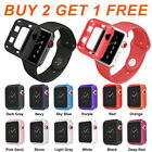 Replacement Sports Silicone Watch Band&Case for Apple Watch Series 4 3 2 1 #1C image