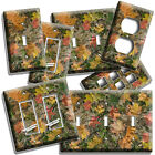 MOSSY TREE OAK LEAVES HUNTER CAMO CAMOUFLAGE LIGHT SWITCH OUTLET WALLPLATE DECOR