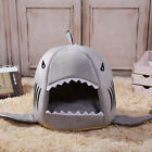 Cartoon Shark Pet Cat Dog Winter Warm Sleeping Bed House Cushion Nest Healthy