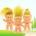 Внешний вид - 10cm Donald Trump Troll Doll Funny President Collectible Toy Novelty Gift Gag jc