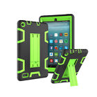 For Amazon Fire 7 HD8 2015 2016 2017 Shockproof Hybrid Rubber Stand Tablet Case