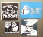 Support Troops friends Death Storm trooper body Armour shot star wars magnet 478 $11.99 USD on eBay