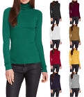 Wow Couture Turtleneck Long Sleeve Ribbed Sweater S ~ L