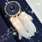 Handmade Dream Catcher with Feather Wall Hanging Decor Bedroom Ornament Gifts