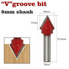 """TUNGSTEN CARBIDE ROUTER BITS 1/4"""" Shank TCT Wood Joining Cutter Shaping"""