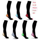Unisex Compression Socks Graduated Supports Performance Sports Running Stockings £3.95 GBP on eBay