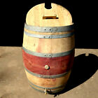 Oak Wine Barrel Water Butt Eco 225L Lift Off Lid Tap Rain Collector 55 Gallon