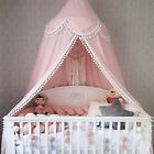 Bed Canopy Mosquito Net for Baby Crib Dome Kids Indoor Outdoor Castle image