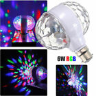 B22 E27 3W/6W LED Crystal Ball RGB Disco DJ Bedroom Party KTV Stage Light Bulb