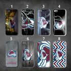 Colorado Avalanche iphone 7 case 8 case 6 case 4 5 6s cover 6plus 7plus 8plus $23.99 USD on eBay