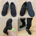 MEN BLACK ORTHOPEDIC DIABETIC SHOCK ABSORB ULTRALIGHT CROSS TRAINER SHOE 6-12