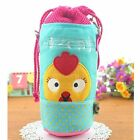 Toddler Bottle Thermal Insulation Bag Wide Mouth Drawstrings Closure With Straps
