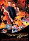 James Bond 007 The World Is Not Enough Vintage Art Silk Poster 8x12 24x36 24x43 $3.19 CAD on eBay