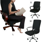 Elastic Computer Office Rotating Chair Seat Cover Stretch Slipcover Protector