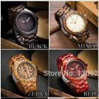 Wooden Watch Men Wood Watches Fashion Casual Wooden Luxury Watch  Relogio image