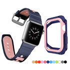 PASBUY 34B Silicone Replacement Watch Case Band for Apple Watch Series 4 3 2 1 image