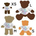 Kyпить 1 Personalised White T-Shirt for Teddy Bear Toy Photo Text Logo Printed Gift на еВаy.соm