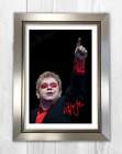 Elton John (5) A4 signed photograph picture poster. Choice of frame.