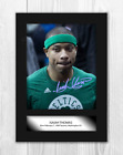 Isaiah Thomas NBA Denver Nuggets A4 signed poster. Choice of frame. on eBay