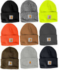 Внешний вид - Carhartt Acrylic Watch Beanie Knit Men's Stocking Cap Warm Winter Hat Authentic