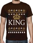 King Crown Christmas Gift Form Men Ugly Sweater T-Shirt