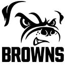 CLEVELAND BROWNS DIE CUT DECAL PERFECT FOR WINDOWS OR WALLS $7.0 USD on eBay