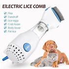 Electric Brush Comb Head Lice Vacuum Pet Dog Cleaning Capture Tool US PLUG