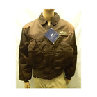 Alpha Industries Military Style Army CWU 45P Jacket Coat, Black, Made in USA