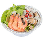 "7"" Round Aluminium Foil Pans Disposable Food Contain Bowls 20pcs Pack"