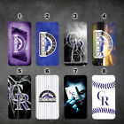 Colorado Rockies iphone 7 wallet case iphone 6 6+ 5 7 X XR XS MAX case flip