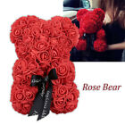 Rose Bear Toy Women Girls Flower Birthday Mother's Day Wedding Party Doll Gifts