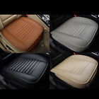 Edge Wrapping Car Front Seat Cushion Cover Pad Mat Auto Office Chair PU Leather on eBay