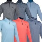 Under Armour Mens PlayOff 2.0 1/4 Zip Golf Sports Shirt Top Pullover / NEW 2020