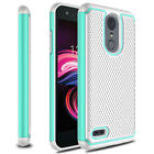 For LG Aristo 3/Tribute Empire Phone Case Hybrid Shockproof Protective Tpu Cover