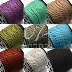 5m X 3mm Faux Suede Cord Thread String Leather Jewellery Bracelet Necklace Diy