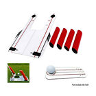 Pro Speed Trap Base Golf Swing Training Aid 4 Rods Hitting Practice Golf Trainer