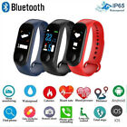 2019 Smart Band Watch Bracelet Wristband IP67 Fitness Sport Running Tracker US