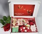 Personalised Valentines Day 3D Heart Million Sweet Gift box Hamper for Her / Him