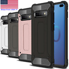 Shockproof Hybrid Armor Case for Samsung Galaxy S10+ S10 S10E + Screen Protector