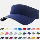 Visor Sun Hat Golf Tennis Beach Mens Cap Adjustable Summer Plain Colors Sandwich