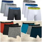 """Under Armour 1277279 Boxer Brief Charged Cotton Stretch 6"""" Boxerjock (3 Pack)$40"""