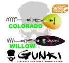 GUNKI Street Fishing Concept FIX FLASH Soft Lure Bait Spinner Blade Srews Jig