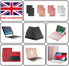 Bluetooth Wireless Ultra Slim Keyboard Case Cover Stand For iPad Pro & Air 1 / 2