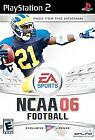 NCAA Football 06 (Sony PlayStation 2, 2005)