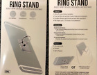 Gems Universal Ring Stand Easy Grip Cell Phone Device Holder Kickstand GOLD/SILV