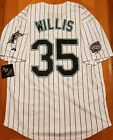 NWT Men's Dontrelle Willis Florida Marlins Retro Baseball Jersey (S,M,L,XL,XXL)