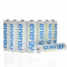 BTY 4-20pcs white 1.2V AA AAA NI-MH 800/2000/3000/3300mAh Rechargeable Batteries